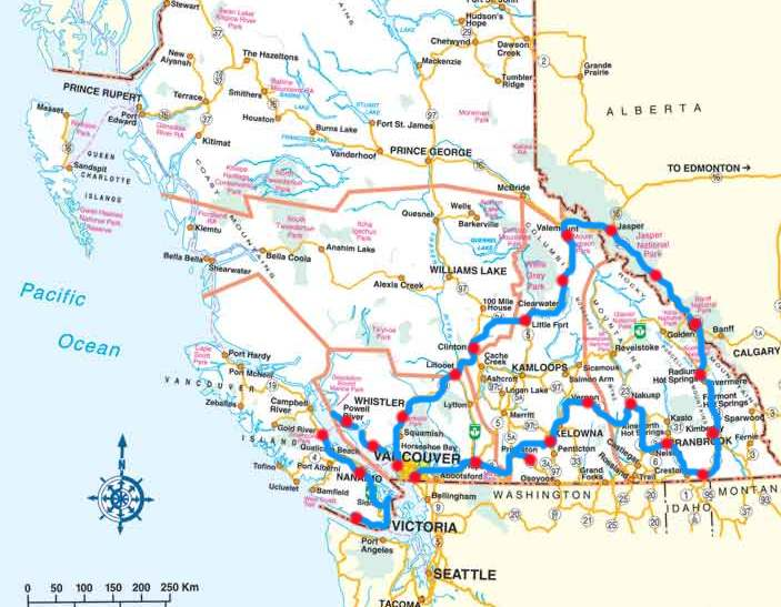 Lake louise vancouver to lake louise distance for Resorts driving distance from nyc